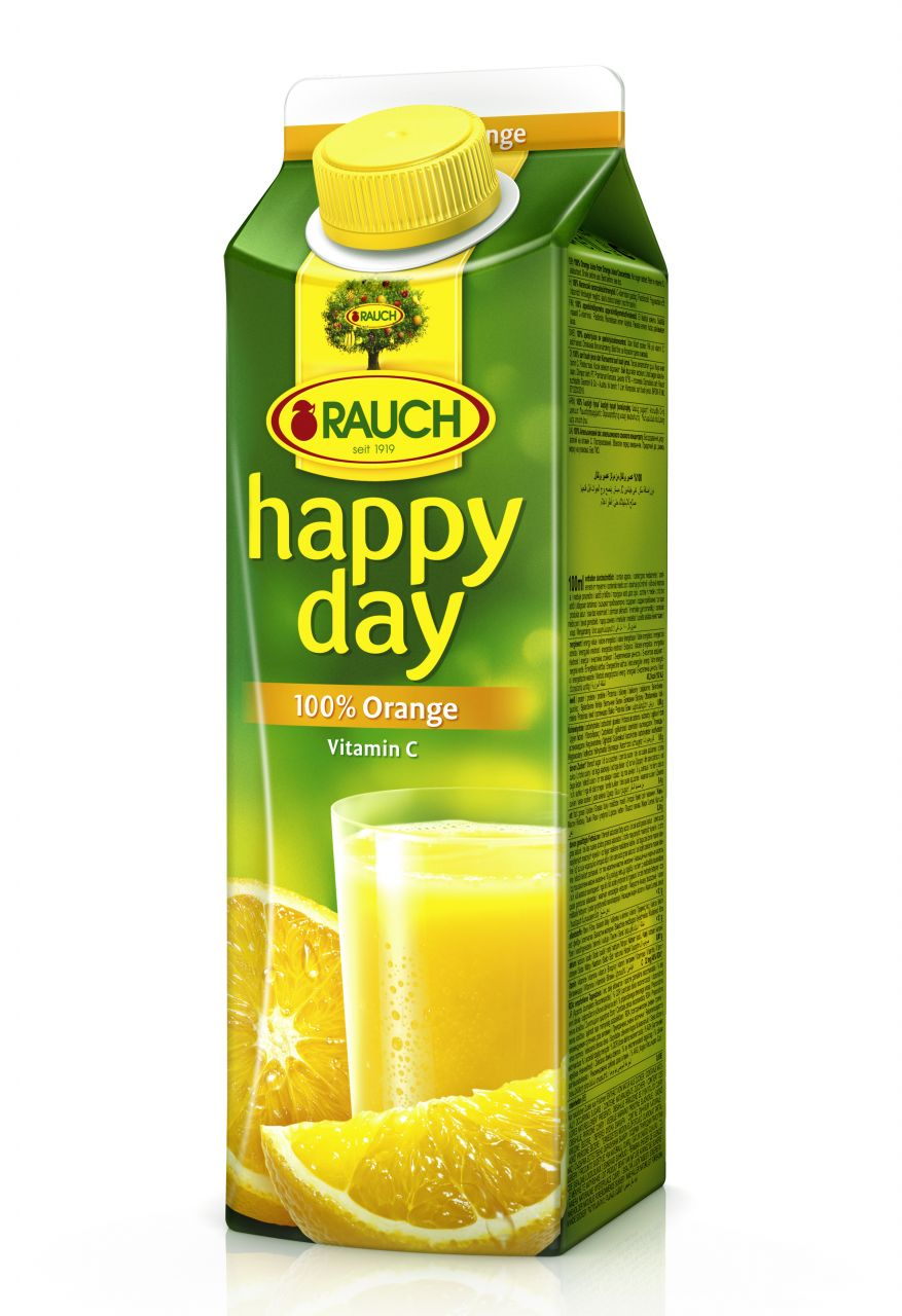 Rauch Happy Day narancslé 100% 1 l